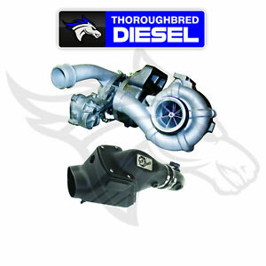 Bd Diesel Twin Turbo System Ford 6 4l 08 10 C w Air Intake Kit 1047080