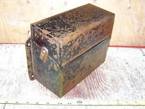 Old 1917 25 Ford Model T Car Truck Antique Spark Coil Box Hit Miss Engine Steam