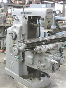 Cincinnati 2mi Horizontal Toolroom Milling Machine