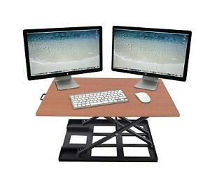 Height Adjustable Standing Desk Vertical Converter Riser Stand Up Sit Stand Desk