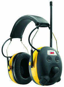 3m Worktunes Hearing Protector With Am fm Digital Radio Personal Protective New