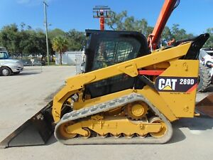 2014 Cat 289 d Turbo 2 Speed Enclosed A c Cab Power Coupler Self Leveling