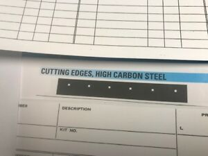 Cutting Edge Steel Blade For Western Snow Plow 8 1 2 W X 6 H X 1 2 Thick