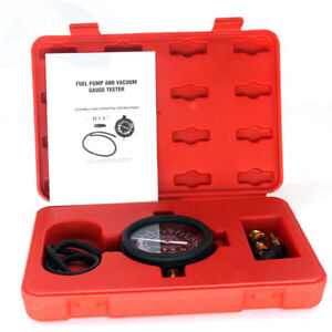 Carbole Fuel Pump Vacuum Tester Gauge Leak Carburetor Pressure Diagnostics Kit
