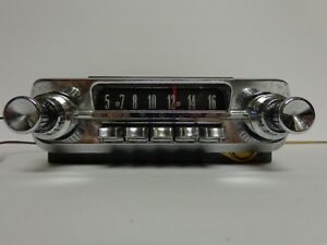 1962 Mercury Am Push Button Radio Motorola 24my Meteor Montery 61f