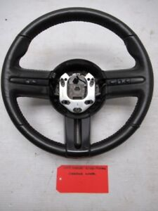 07 08 09 Ford Mustang Shelby Svt Gt500 Black Leather Steering Wheel W Cruise