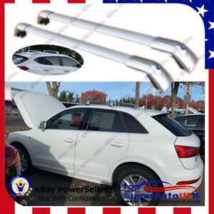 Top Roof Rack Silver Luggage Baggage Cross Bar Crossbar For Audi Q3 2006 2019 Us