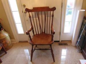 Ethan Allen Tall Windsor Chair Very Nice Shipping Is Not Free