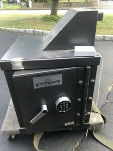 Citysafe Right Side Drop Through Safe Depository Vault Electronic Lock W Combo