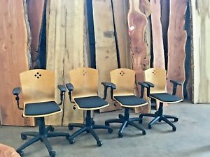Vintage Stakemore Office Swivel Chairs