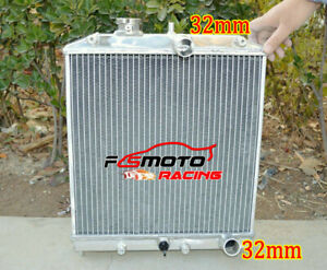 3 Row Radiator For 1992 2000 Honda Civic Eg Ek del Sol integra Crx B16 B18 Si Mt