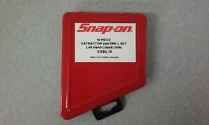 Snap on 10 Piece Extractor drill Set Left Hand Exdl10