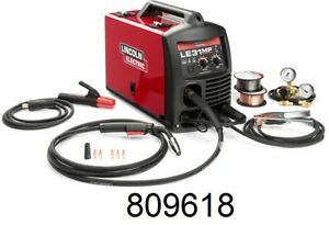 new Lincoln K3461 1 Le31mp Multiprocess Welder Mig Tig Stick