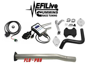 Efi Live Tuner 07 10 Dodge Ram Cab Chassis 6 7l For Cummins Dpf Egr Delete Kit