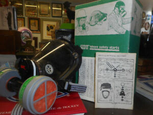 Scott Respirator Mask Assembly 802240 01 New Old Stock With Original Box