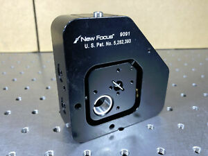 Newport New Focus 9091 Single mode Fiber Positioner Xyz xy Free Space 8 32