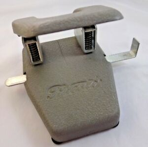 Vintage Presto Two Hole Punch Mid Century Industrial Office Supplies Mint Cond