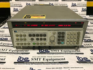 Agilent Hp 8341b Synthesized Sweeper Signal Generator 10mhz 20ghz With Warranty
