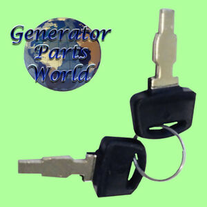 2 Ignition Switch Keys For Honda Eu3000is Eu3000is1 Inverter 2 8kw 3kw 6 Wire