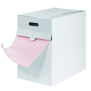 Box Partners Anti static Air Foam Dispenser Packs 1 8 X 12 X 175 Pink 1 each