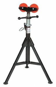 Sumner Roller Head Pipe Stand 24 Pipe Capacity 28 To 49 Overall Height