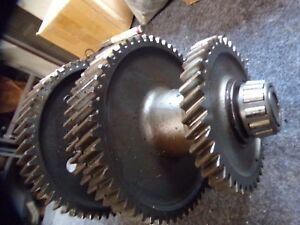 Ford 4000 Tractor Transmission Main Bottom Lower Drive Gears Gear
