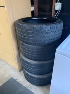4 Used 265 40 20 104h Pirelli Pzero Nero Tires