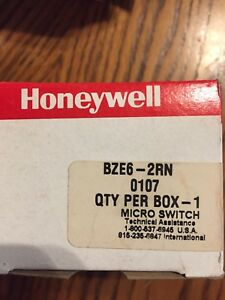 Honeywell Bze6 2rn Micro Switch New In The Original Box 0107