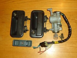 88 To 95 Isuzu Pickup Truck Amigo Ignition Switch Door Glove Box Lock Set