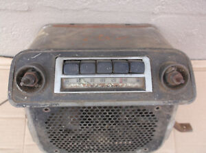 Vintage Antique Car Radio