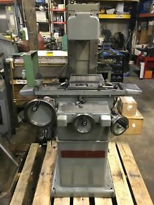 Covel clausing Surface Grinder 6 X12 1 Hp 3 Phase Will Ship