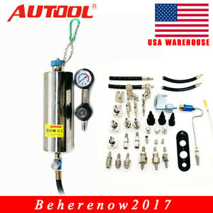 Autool C100 Non Dismantle Fuel System Injector Cleaner Tester For Car Petrol Usa