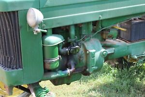 John Deere M 40 420 Tractor Crawler Complete Running Engine Farmerjohnsparts