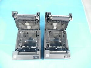 Lot Of 2 Ncr 7197 2001 9001 Pos Thermal Receipt Printers Usb serial Port