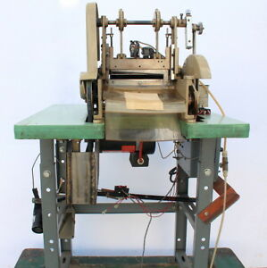 Ace C 150 Ws Wp Strip Cutter Hot Cold Cutting Machine Table And Motor 110v