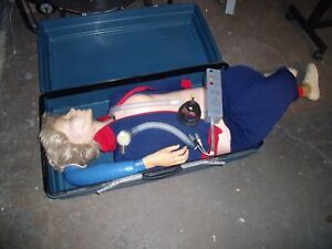 Laerdal Resusci Anne Full Body First Aid Cpr Training Manikin H7
