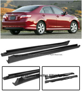 Replacement Bolt On Side Skirts Rocker Panels Molding Lip For 07 11 Toyota Camry