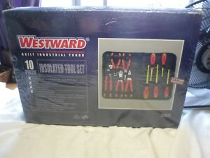 Westward Tools Electrical Insulated Tool Set 10 Piece 1000v 1yxj7