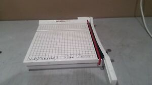 Boston 2612 12 Paper Cutter trimmer Metal wood Frame Made In Usa Free Shipping