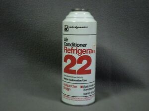R 22 Refrigerant 15oz Interdynamics Id Air Conditioner Puncture Can Gas Liquid