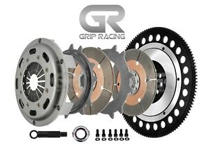 Grip Racing K Series Twin Disc Clutch Kit For K20 K24 Honda Acura K Series