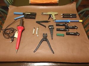 Lot Of Wire Electrical Machinist Tools