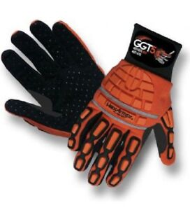 Brand New 3 Pairs Ggt5 Cut Resistent Gloves Hex Armor 4021 Mud Grip Size Xxl 11