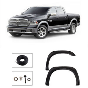 For 02 08 Dodge Ram 1500 03 09 Ram 2500 3500 Pocket Rivet Texture Fender Flares