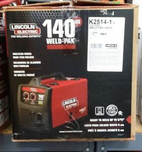Lincoln Electric Weld pak 140hd Wire Feed Welder K2514 1 In Box