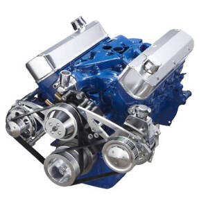 Small Block Ford 289 302 Serpentine Conversion Kit Power Steering
