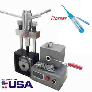 Dental Flexible Denture Injection System Machine Lab Heater Hot Press flosser Us