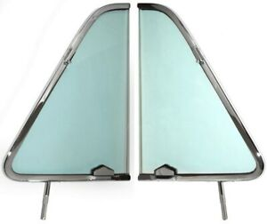 1951 1954 Chevy Gmc Pickup Vent Window Chrome Frame sold As A Pair