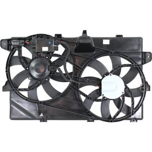 Radiator Cooling Fan For 2007 2013 Ford Edge Lincoln Mkx W Control Module