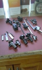 Misc Machinists Lot Of Indicator Knuckles Clamps Starrett And Others